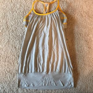 Lululemon women's size 8 light support tank top